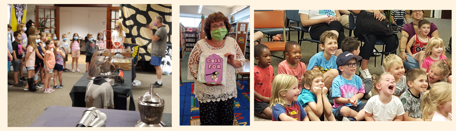 More fun at the library!